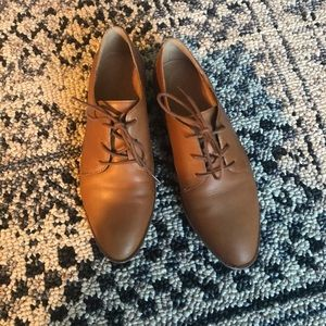 Madewell Frances Oxford Light Brown